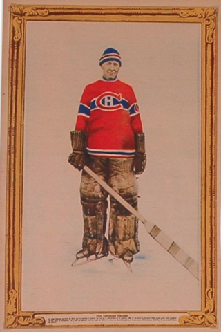 Georges Vezina La Press Hockey Photo March 4, 1928