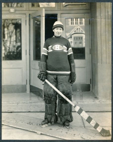 Georges Vézina Montreal Canadiens 1925