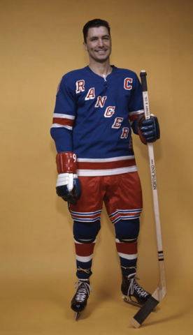 Andy Bathgate New York Rangers 1963