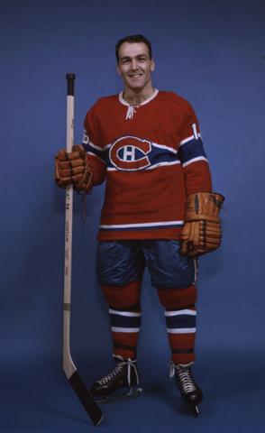 Henri Richard Montreal Canadiens 1963