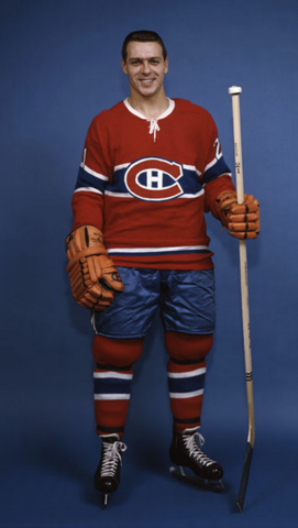 Gilles Tremblay Montreal Canadiens 1962