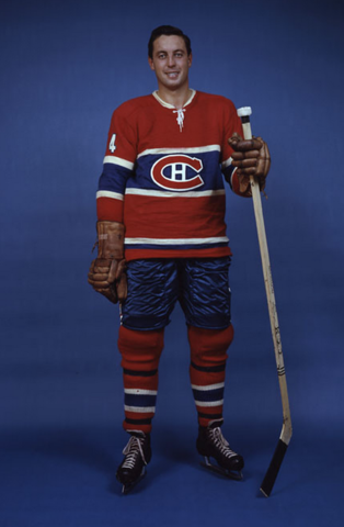 Jean Béliveau Montreal Canadiens 1960