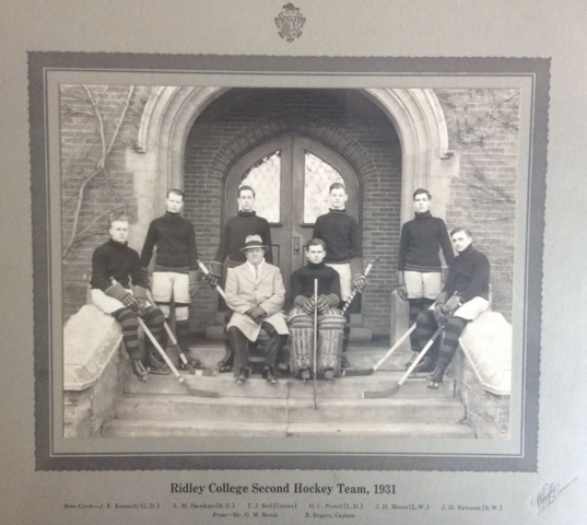 Ridley College Hockey Team 1931