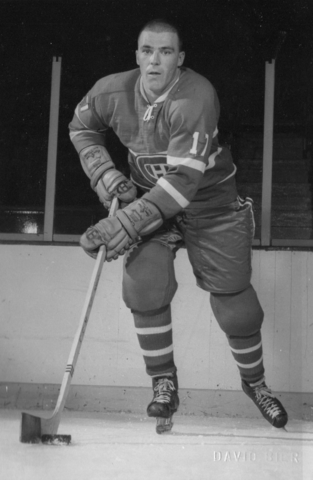Jean-Guy Talbot Montreal Canadiens - Stanley Cup Champion