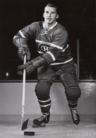 Don Marshall Montreal Canadiens - Stanley Cup Champion