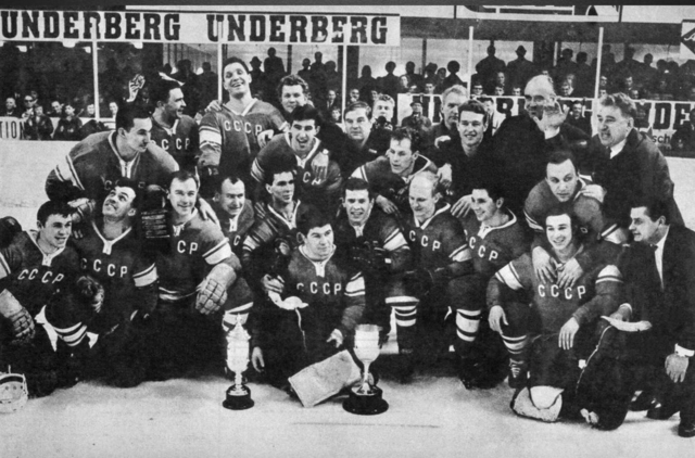 Soviet Union National Team World Ice Hockey Champions 1966