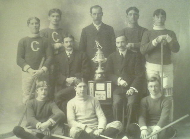 Parry Sound Hockey Club Excelsior Cup Champions 1905