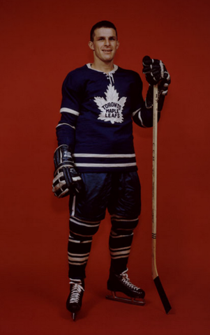 Carl Brewer Toronto Maple Leafs 1960