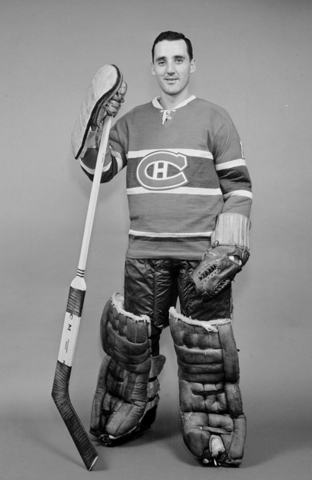Jacques Plante Montreal Canadiens 1959