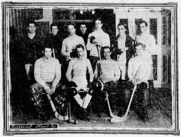 Columbia University Hockey Team, 1903–04
