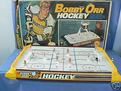 Table Top Hockey Game 1960s  Bobby Orr