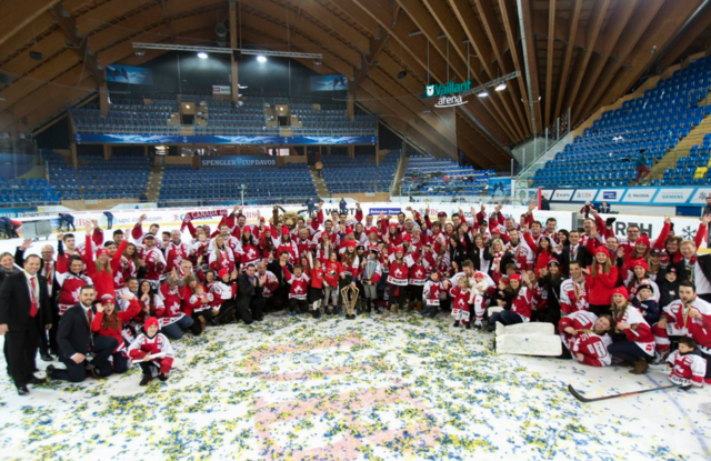 Spengler Cup Champions 2015 Team Canada