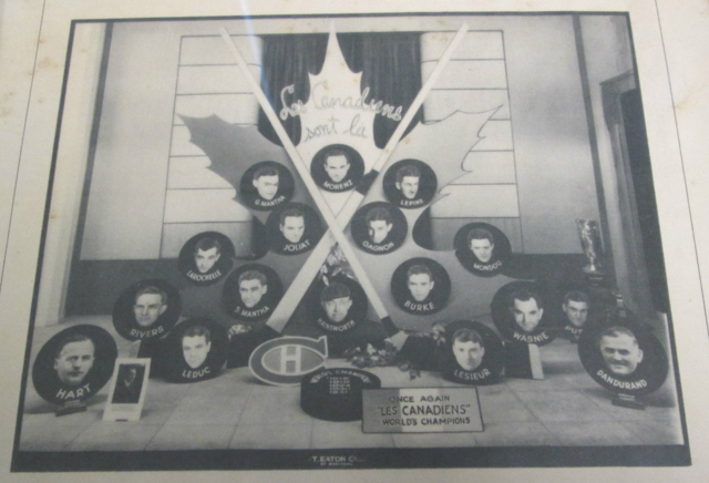 1931 Montreal Canadiens Stanley Cup Champions