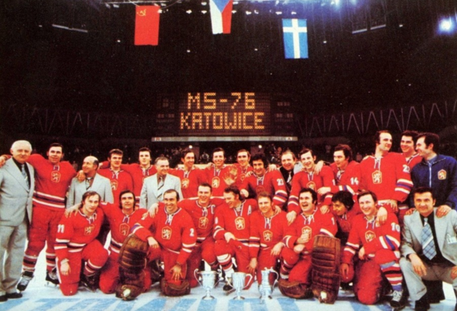 Czechoslovakia National Team World Ice Hockey Champions 1976