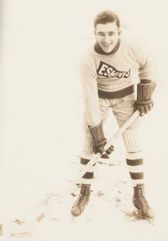 Art Gagné Edmonton Eskimos / Eskimo Hockey Team 1920