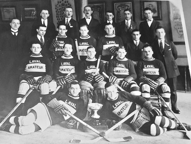 Club de Hockey Laval Amateur Ligue Quebec Champions 1925