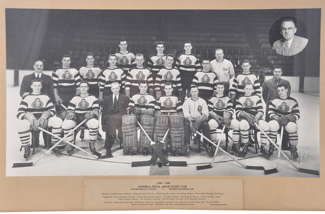 Royal Montreal Hockey Club Memorial Cup Champions 1949