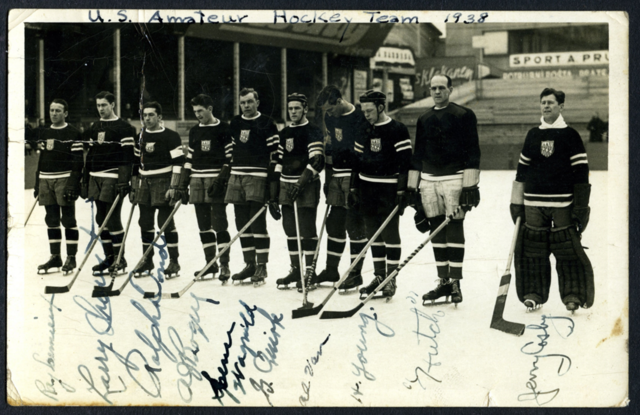 United States Men's National Ice Hockey Team 1938