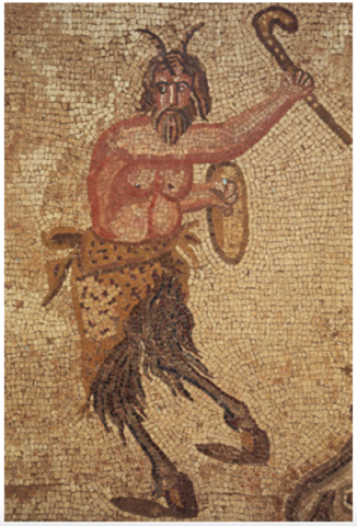 Pan God with Field Hockey Stick - circa 3rd century AD