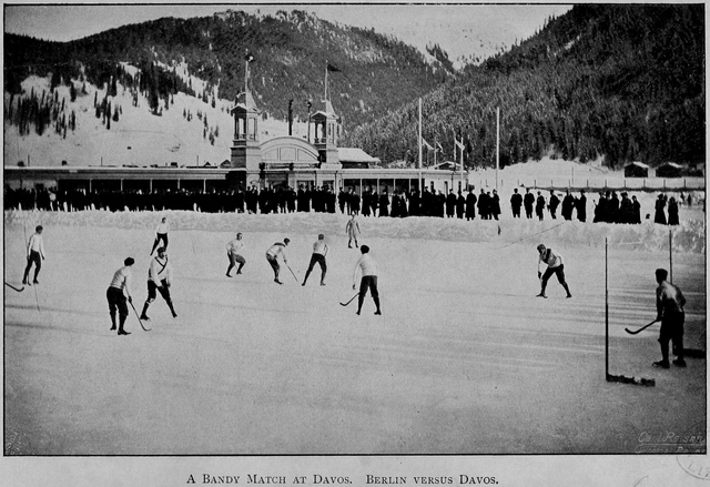 Berlin versus Davos at bandy
