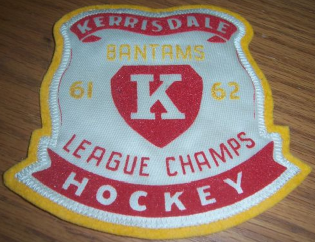Kerrisdale Minor Hockey 1962 Bantams League Champs Patch