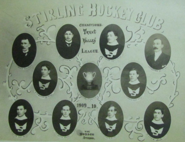 Stirling Hockey Club Trent Valley Hockey League Champions 1910