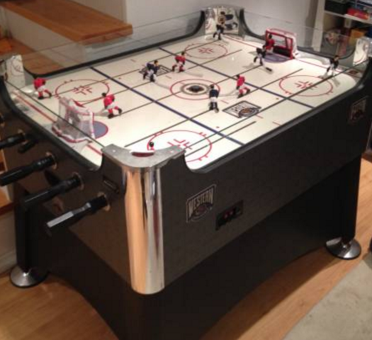 Halex table hockey game hockeygods for Table hockey