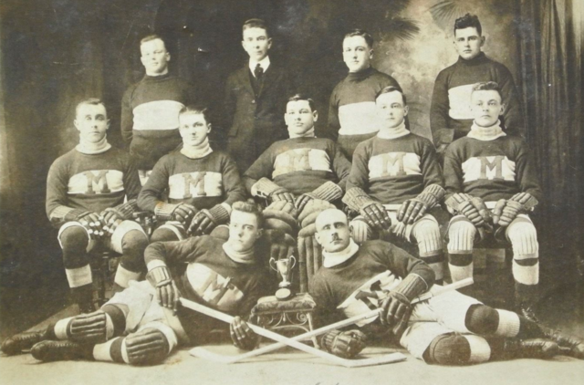Décor Mercier de Montmagny - Club de Hockey Senior 1923