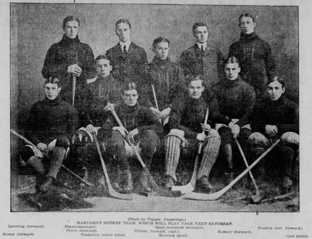 Harvard University Hockey Team, 1901–02