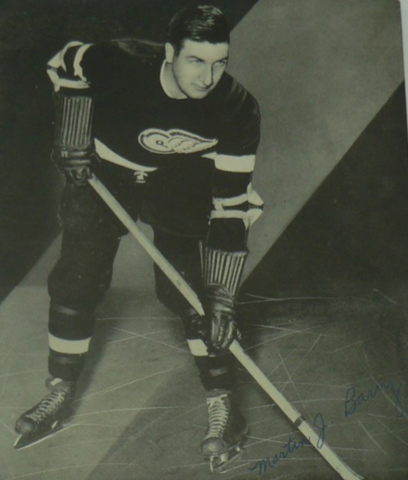 Marty Barry Detroit Red Wings 1938