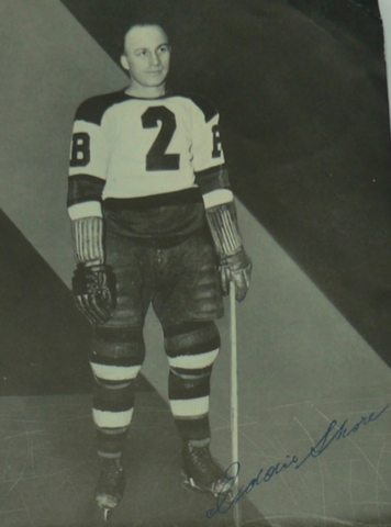 Eddie Shore Boston Bruins 1938