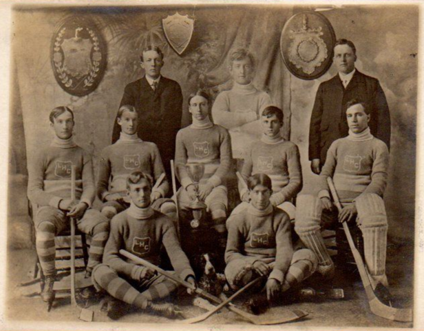 Lennoxville Hockey Club 1906 Champions