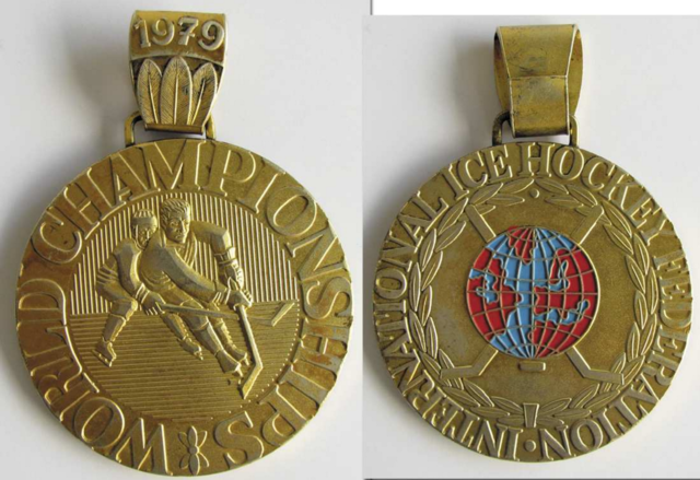 1979 World Ice Hockey Championships Gold Medal