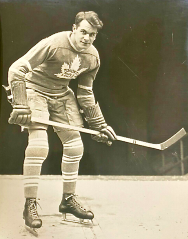 Syl Apps Toronto Maple Leafs 1938