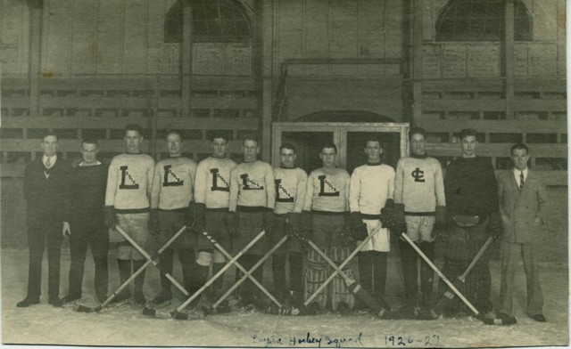 Loyola Hockey Team 1927