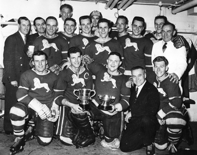 Wembley Lions 1957 British National League Champions
