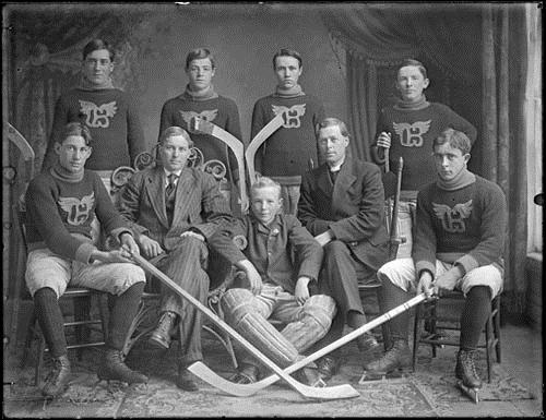 Gore Bay Hockey Team 1920