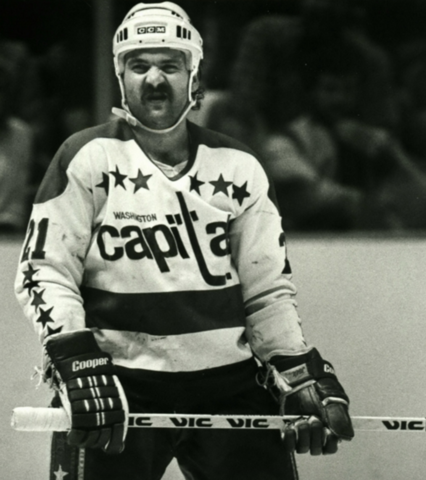 Dennis Maruk Washington Capitals Legend and Scoring Champion 1982