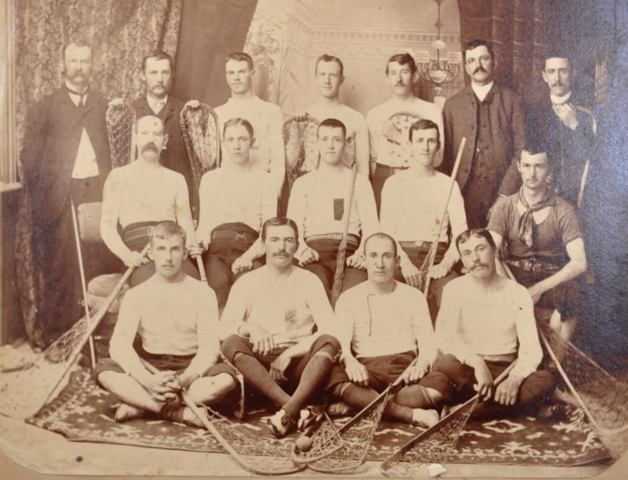 "Richmond Hill ""Young Canadians"" Lacrosse Team 1885"