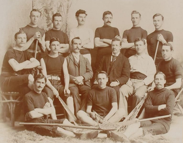 Capital Lacrosse Club Senior Champions of Winnipeg 1895