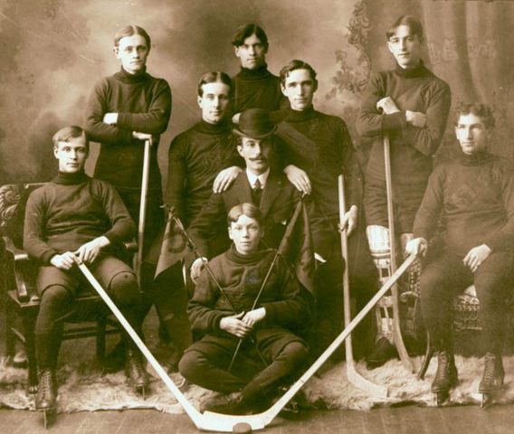 Sackville Hockey Club 1906 - Sackville, New Brunswick