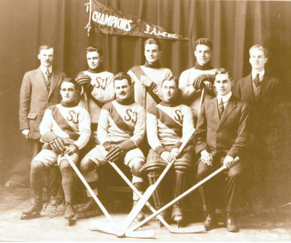 St. John Hockey Team Champions of the Maritime Provinces 1917