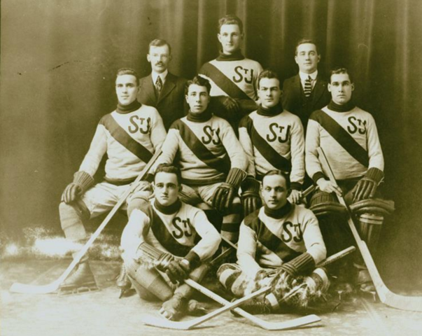 St. John Hockey Team 1916 Saint John, New Brunswick