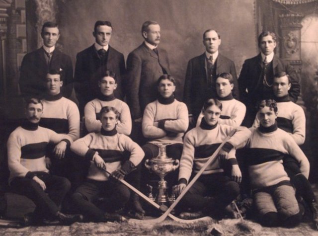 Winnipeg Rowing Club Hockey Team Champions of Western Canada Hockey League 1904