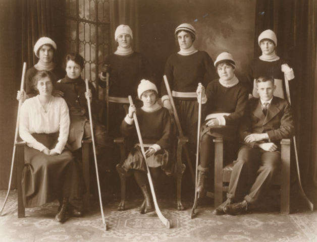 University of Alberta Ladies' Hockey Team 1917–18