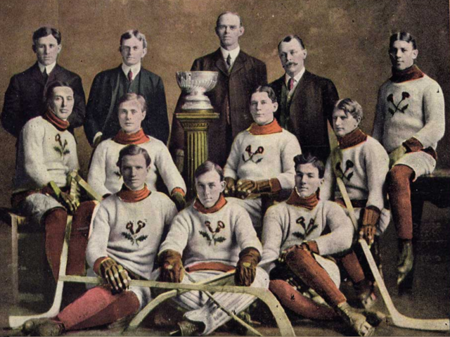 Kenora Thistles Stanley Cup Champions 1907