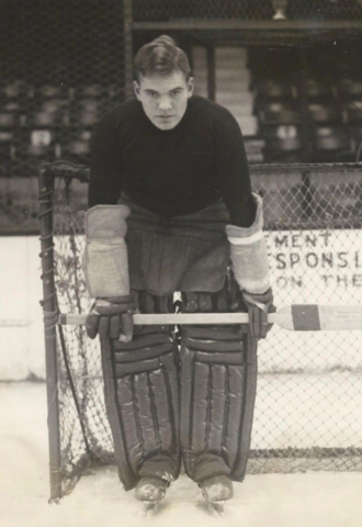 Joseph Morrill Harvard Crimson Ice Hockey Goaltender 1927