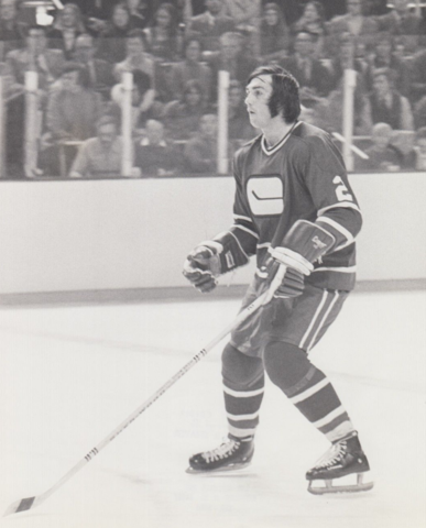 Jocelyn Guevremont Vancouver Canucks Defensman 1972