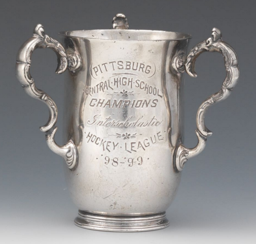 Oldest Known Example of Pittsburgh Hockey Trophy 1899