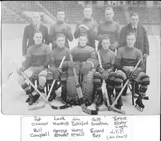 Queens University Hockey Team 1920-21
